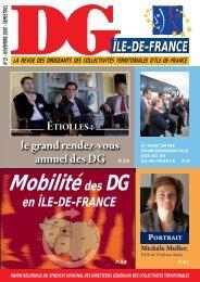 DG Ile de France n°15 1ère partie - SNDG