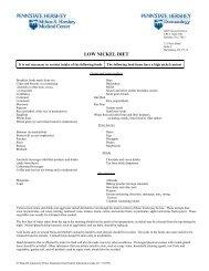 Low Nickel Diets.pdf - AInotes