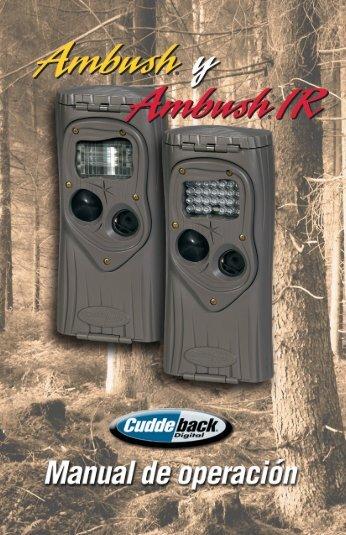 Ambush-AmbushIR EuroManual 2012-2.indd - Cuddeback Support