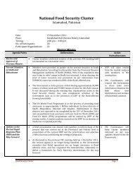 FSC_PAK_FS Cluster Meeting Minutes_151211.pdf - Food Security ...