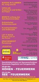 """Programm - Flayer 2012 - Landgasthaus """"Zur Tränke"""" - Seite 2"""