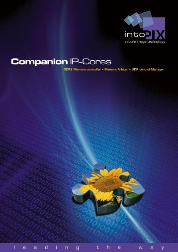 IPX companion IP-Cor.. - intoPIX