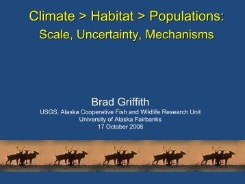 Projected effects of climate change on wildlife habitats and ... - USGS