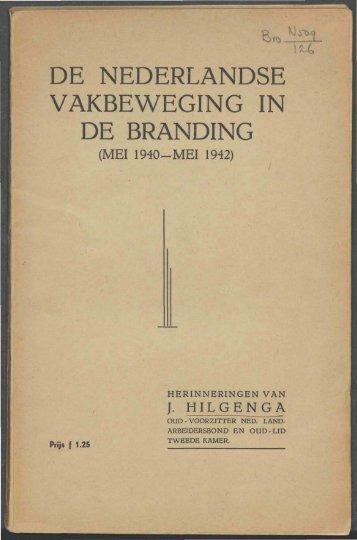 De Nederlandse vakbeweging in de branding: Pagina 1 - 37