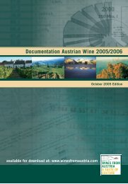 Documentation Austrian Wine 2005/2006