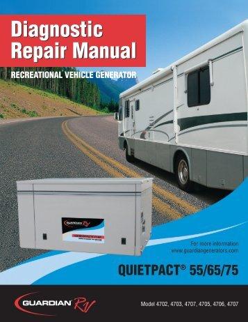 Quietpact 55/65/75 Diagnostic Repair Manuals ... - Generac Parts