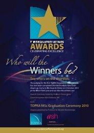 Winners be? - TOPRA