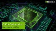 CUDA Optimization1