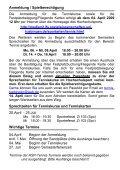 Tenniskurse , Festplatzbelegung, Fliegende-Karte ... - Hochschulsport - Seite 4