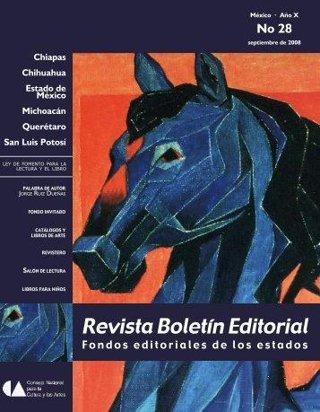 Revista Boletín Editorial - Dirección General de Vinculación Cultural ...