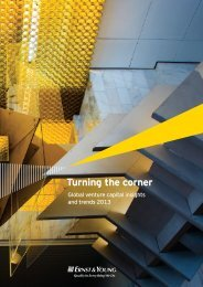 Turning the corner: Global venture capital insights ... - Ernst & Young