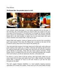 The Breeze Bar - Cinnamon Hotels & Resorts