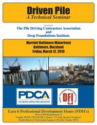 A Technical Seminar Presented By - Pile Driving Contractors ...
