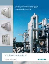 Tableros eléctricos - Industria de Siemens