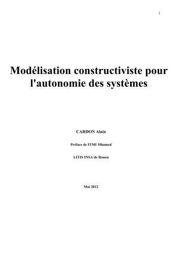 Modélisation constructiviste pour l'autonomie des ... - Admiroutes