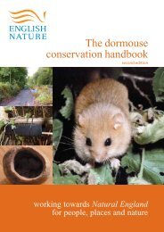 en dormouse handbook - Natural England Publications and Products