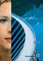 EDF Group Annual Report 2004 - Alle jaarverslagen