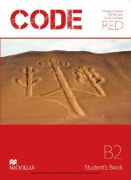 Copyright Macmillan, Code - Red, ISBN 978-3-19-492928 ... - Hueber