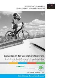 Evaluation in der Gesundheitsförderung - Institut für ...