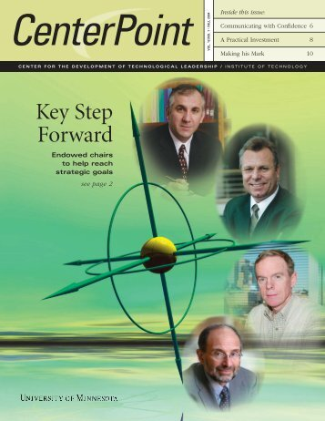 Fall 2004 - Technological Leadership Institute - University of ...