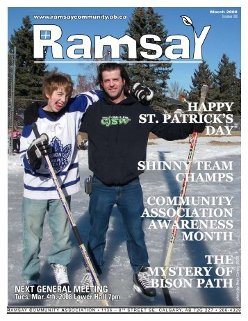 March 2008 - Ramsay Community Association in Calgary