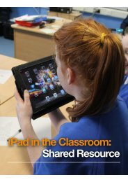 iPad in Classroom - AmmA Centre