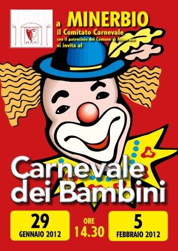gENNaIO 2012 fEBBRaIO 2012 ORE il Comitato Carnevale