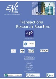 Research Reactors - European Nuclear Society