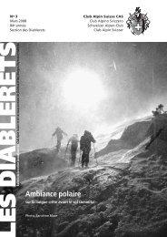Mars - Club Alpin Suisse - Section des Diablerets