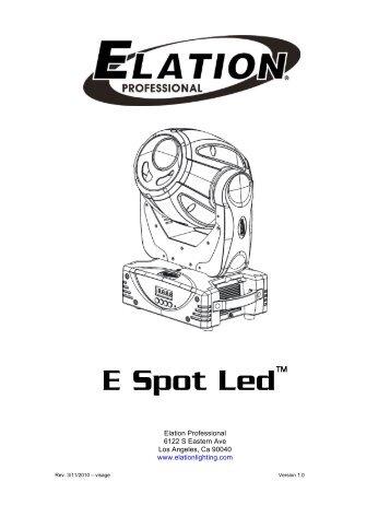 ELATION DESIGN LED 108IP DMX TRAITS