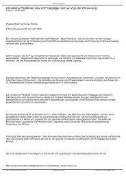 Christliche Pfadfinder des VCP beteiligen sich an ... - VCP Hannover