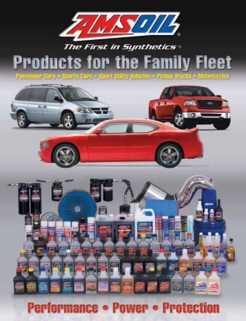 G497 - Products For The Family Fleet - Synthetic Motor Oil
