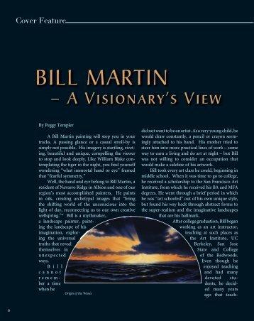 BILL MARTIN - Mendocino Art Center