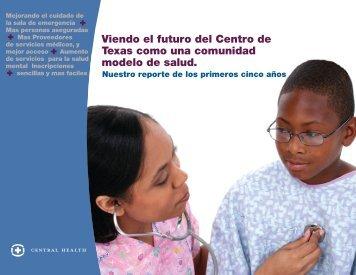 Viendo el futuro del Centro de Texas como una ... - Central Health