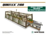 QUIKFLEX 2100 - Graphic Packaging