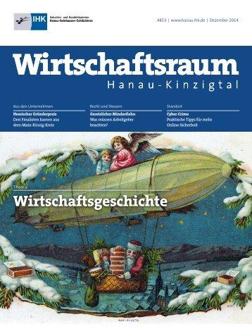 IHK Wirtschaftsraum: Ausgabe Dezember