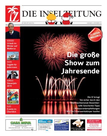 Die Inselzeitung Mallorca Dezember 2014