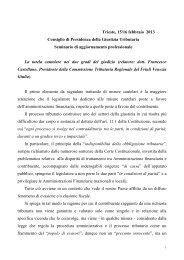 Seminario Trieste - Consiglio di Presidenza della Giustizia Tributaria