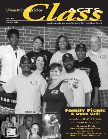 Summer 2010 issue - University City Schools