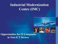 Industrial Modernization Centre (IMC) - TIEC