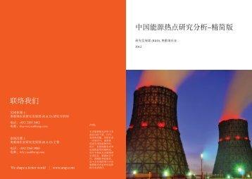 中国能源热点研究分析-精简版联络我们 - Drivers of Change