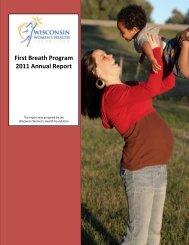 2011 Program Annual Report - Wisconsin Women's Health Foundation