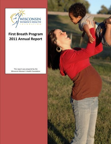 2011 Program Annual Report - Wisconsin Women's Health Foundation