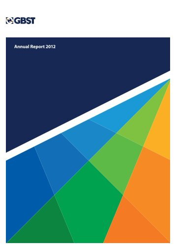 Annual Report 2012 - GBST