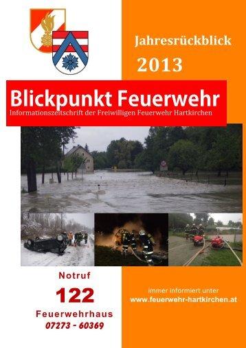 Blickpunkt Feuerwehr - Feuerwehren von Hartkirchen