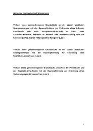 1 Gemeinde Nordseeheilbad Wangerooge Verkauf eines ...