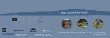 platåberget Kinnekulle - restaurering och bevarande - Länsstyrelserna
