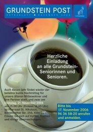 Grundstein-Post extrablatt