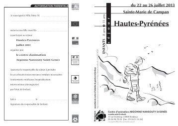 GENÈS + séjours 6/11 - Association des centres d'animation de ...