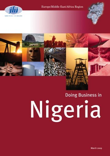 Doing Business in Nigeria - JHI
